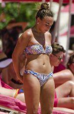CHLOE GREEN in Bikini at a Beach in Barbados 08/05/2017