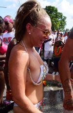 CHLOE GREEN in Bikini at Carnival in Barbados 08/07/2017