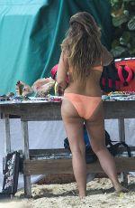 CHLOE GREEN in Bikini on the Beach in Barbados 08/08/2017