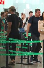 CHLOE KHAN at Airport in Barcelon 08/16/2017