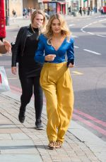 CHLOE LLOYD Out and About in London 08/14/2017