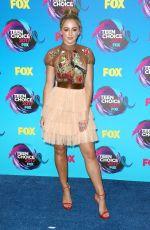 CHLOE LUKASIAK at Teen Choice Awards 2017 in Los Angeles 08/13/2017