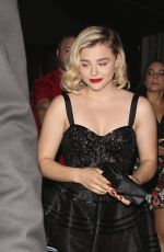 CHLOE MORETZ Leaves Young Hollywood Event at Tao Steakhouse in Hollywood 08/08/2017