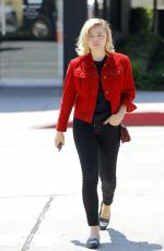 CHLOE MORETZ Out and About in Beverly Hills 08/09/2017
