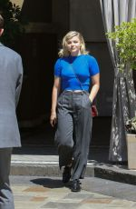 CHLOE MORETZ Out in West Hollywood 08/10/2017