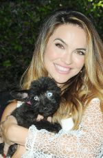 CHRISHELL STAUSE at Daytime for Dogs in Los Angeles 08/18/2017