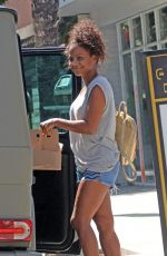 CHRISTINA MILIAN Out Shopping in Studio City 08/14/2017
