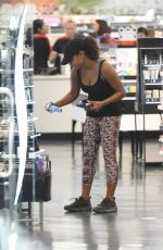 CHRISTINA MILIAN Shopping at Sephora in Los Angeles 08/17/2017