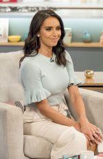 CHRISTINE BLEAKLEY at Lorraine TV Show in London 08/18/2017