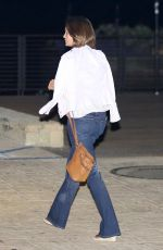 CINDY CRAWFORD Out for Dinner at Nobu in Malibu 08/28/2017