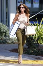 CINDY CRAWFORD Out Shopping in Malibu 08/30/2017
