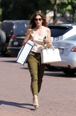 CINDY CRAWFORD Out Shopping in Malibu 08/30/2017
