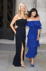 CLAUDIA WINKLEMAN and TESS DALY at Strictly Come Dancing 2017 Launch in London 08/28/2017