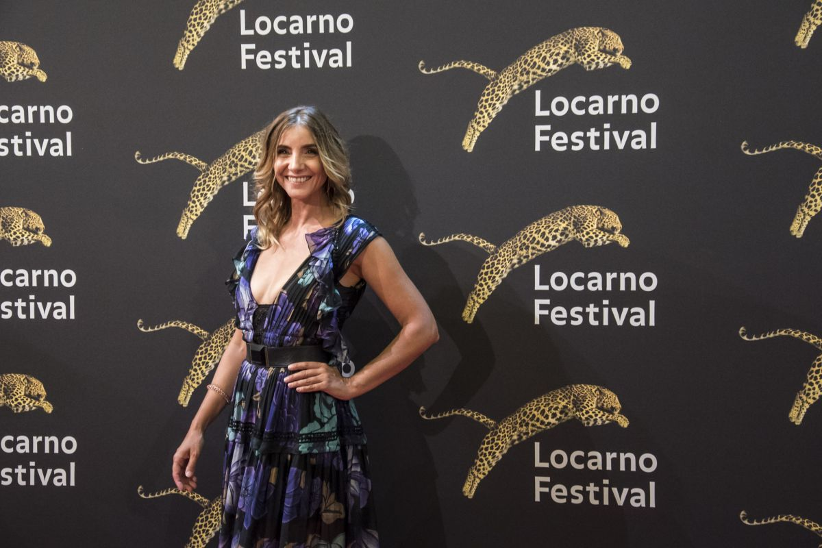 CLOTILDE COURAU at 70th Locarno Festival in Locarno 08/04/2017