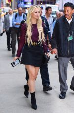 CORINNE OLYMPIOS Arrives at Good Morning America in New York 08/29/2017