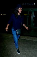 COURTENEY COX Night Out in Los Angeles 08/04/2017