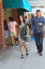 COURTENEY COX Out Shopping in Beverly Hills 08/28/2017