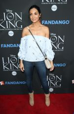 COURTNEY LAINE MAZZA at The Lion King Sing-along Screening in Los Angeles 08/05/2017
