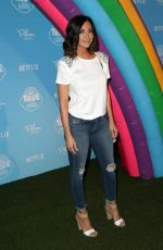 COURTNEY MAZZA at True and the Rainbow Kingdom Premiere in Los Angeles 08/10/2017