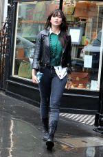 DAISY LOWE Out Shopping in London 08/30/2017