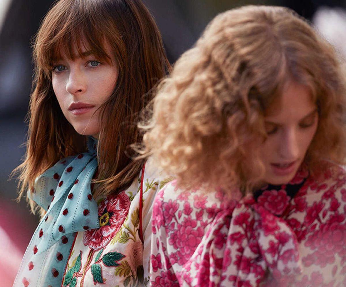 DAKOTA JOHNSON for Gucci Bloom Campaign