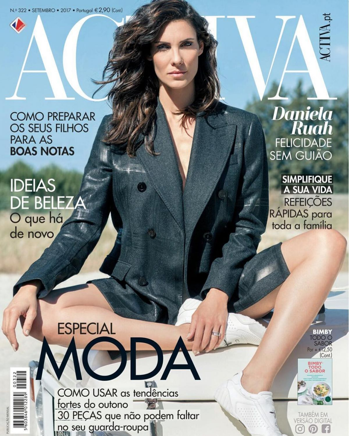 DANIELA RUAH in Revista Activa, September 2017