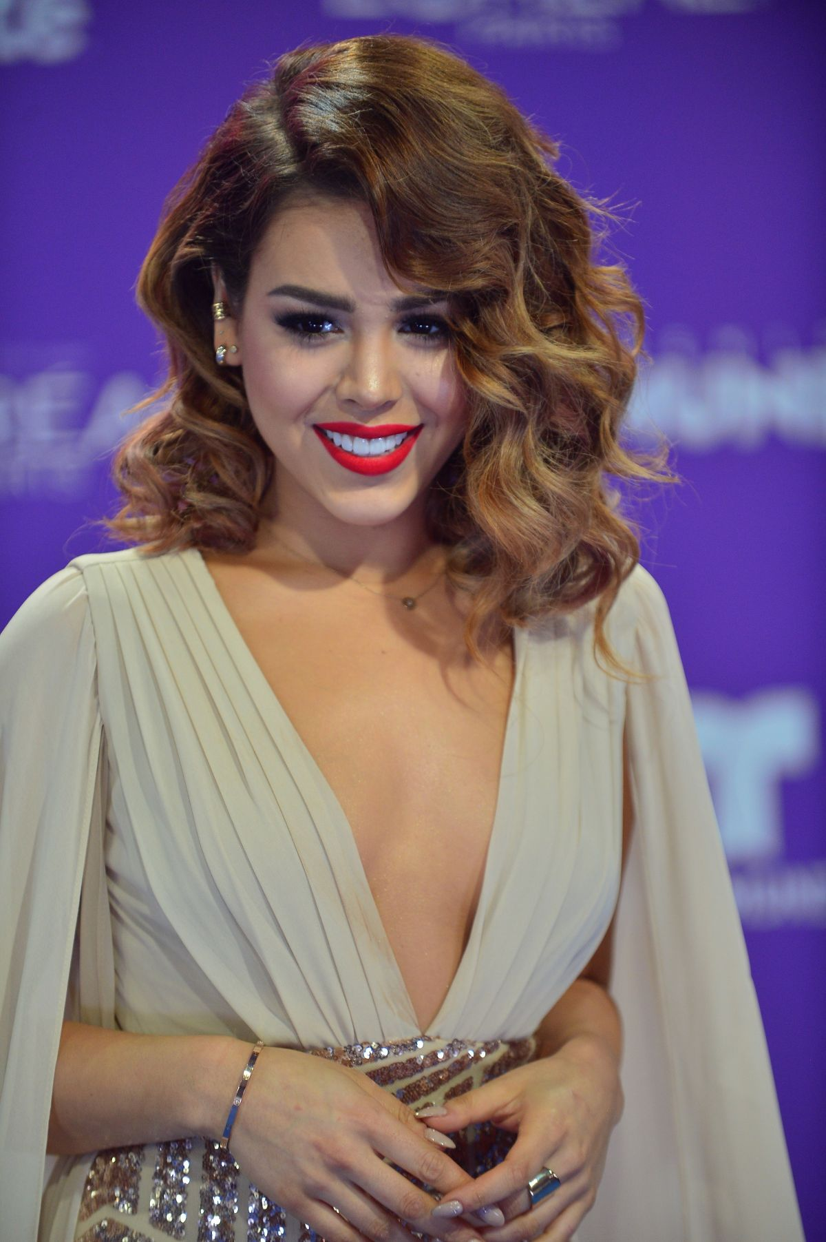 DANNA PAOLA at Telemundo