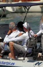 DARIA STROKOUS at a Boat at Palma De Mallorca Royal Nautic Club 08/05/2017