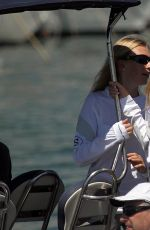 DARIA STROKOUS at a Boat at Palma De Mallorca Royal Nautic Club 08/05/2017