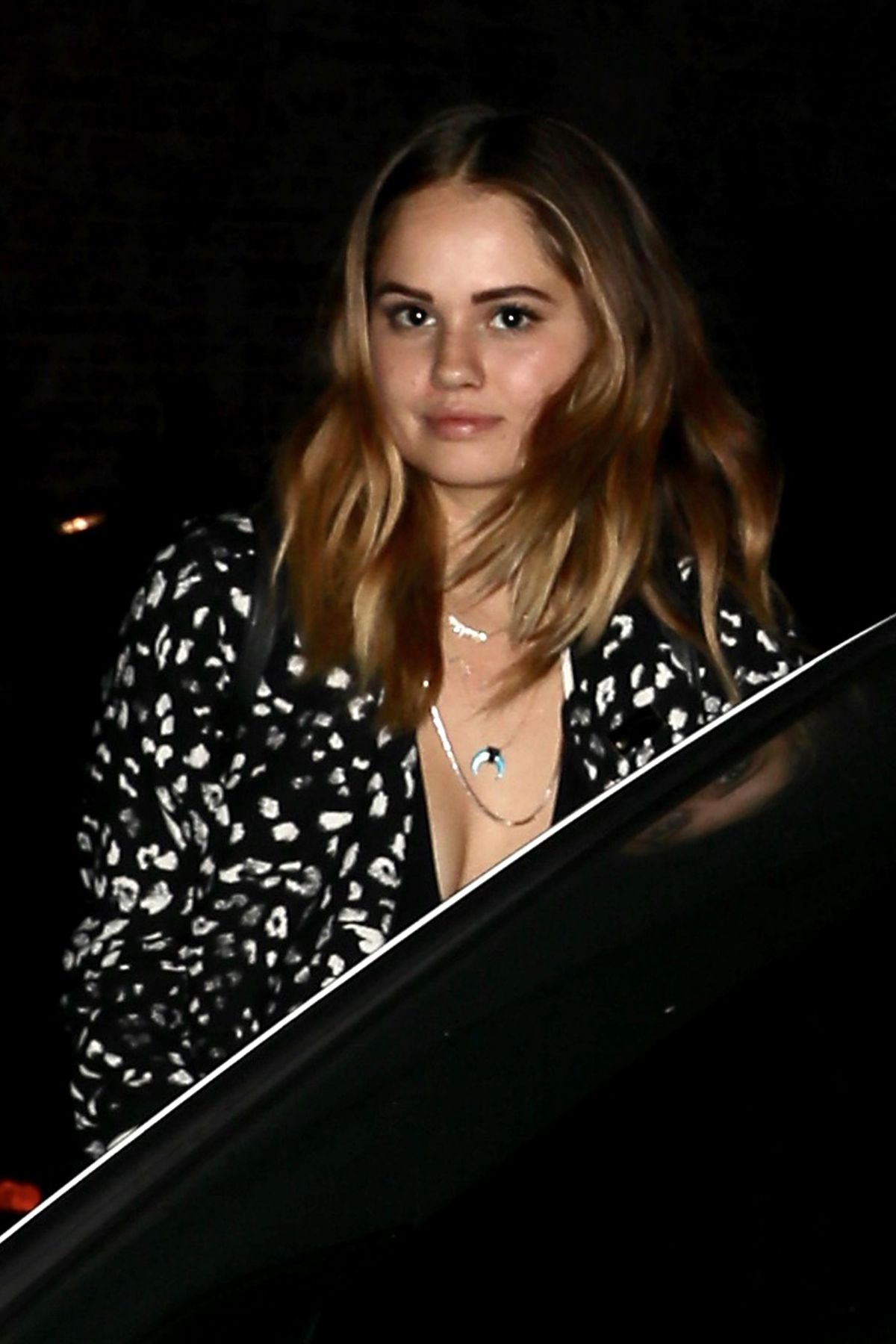 DEBBY RYAN Night Out at Avenue in Hollywood 08/16/2017