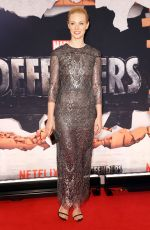 DEBORAH ANN WOLL at The Defenders Premiere in New York 07/31/2017