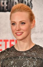 DEBORAH ANN WOLL at The Defenders Premiere in New York 07/31/2017