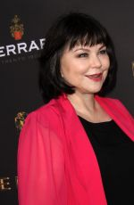 DELTA BURKE at Emmys Cocktail Reception in Los Angeles 08/22/2017