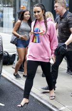 DEMI LOVATO Leaves Her Hotel in New York 08/18/2017