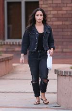 DEMI LOVATO Out and About in Los Angeles 08/28/2017