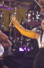 DEMI LOVATO Performs at Good Morning America in New York 08/18/2017