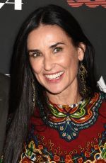 DEMI MOORE at Good Time Premiere in New York 08/08/2017