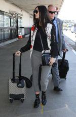 DEMI MOORE at Los Angeles International Airport 08/07/2017
