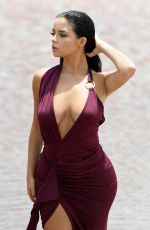 DEMI ROSE MAWBY o teh Set of a Photoshoot in Cape Verde 08/21/2017