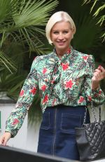 DENISE VAN OUTEN at ITV Studio in London 08/16/2017