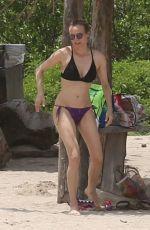 DIANE KRUGER in Bikini at a Beach in Costa Rica 08/17/2017