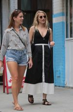 DIANNA AGRON Out and About in New York 08/24/2017