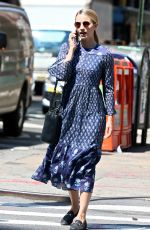 DIANNA AGRON Out in New York 08/16/2017