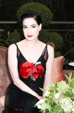 DITA VON TEESE at Maison St-germain Event in Los Angeles 08/02/2017