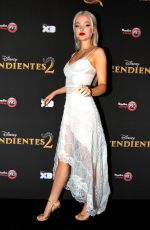 DOVE CAMERON at Descendants 2 Premiere in Mexico 08/12/2017