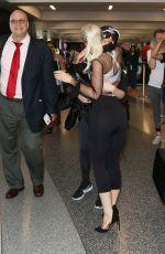 DOVE CAMERON at Los Angeles International Airport 08/10/2017