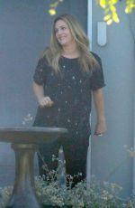 DREW BARRYMOE on the Set of Santa Clarita Diet, Season 2 in Santa Clarita 08/13/2017