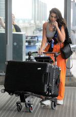 DUA LIPA at Heathrow Terminal 5 Airport in London 08/08/2017