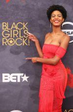 EBONEE DAVIS at BET Black Girls Rock! in Newark 08/05/2017
