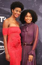 EBONEE DAVIS at BET Black Girls Rock! in Newark 08/05/2017